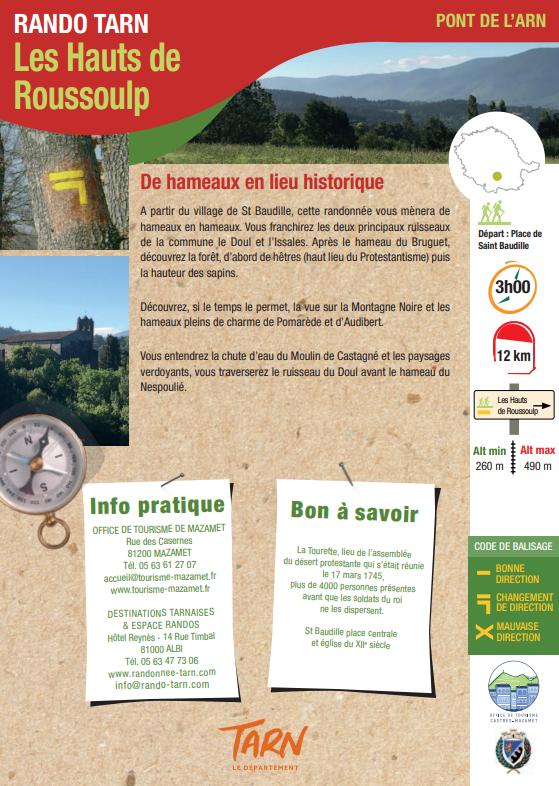 Commune De Pont De L Arn Sentiers De Randonnees